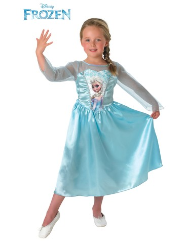 Elsa Frozen Child Costume
