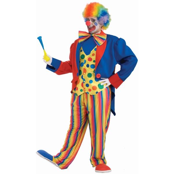 XL Clown Adult Costume