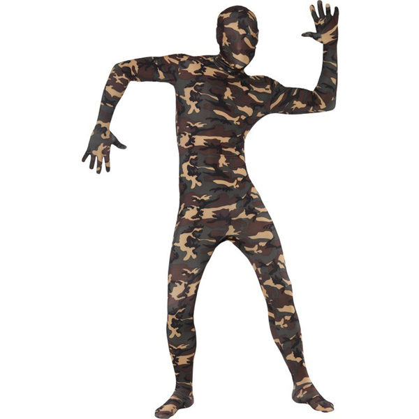 Skintight Camouflage Costume