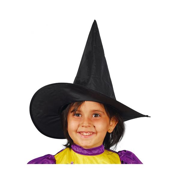 Girls Black Witch Hat