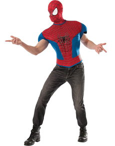 The Amazing Spiderman 2 muscular costume kit for a man