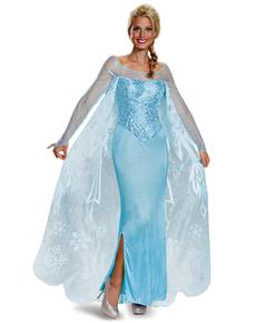 Womens Elsa Frozen Prestige Costume