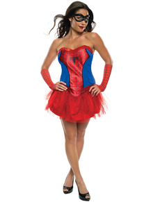 Marvel Spidergirl classic costume for a woman
