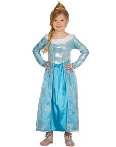 Girls Ice Princess Costume