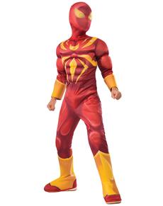 Boy's Deluxe Iron Spider Costume