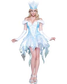 Women's Suggestive Ice Queen Costume